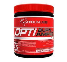 Platinum Labs OptiBurn Amped 45 Servings fat burner