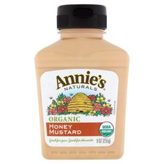 $2.47 Annie's Organic Honey Mustard 9 oz Bottle