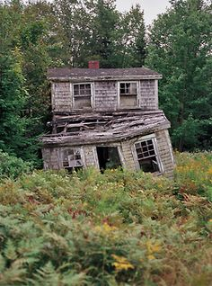 An abandoned house by Brian