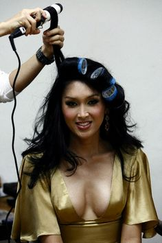 concour miss Tiffany 2007 backstage