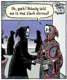 Grim Reaper Fashion Death Cartoon