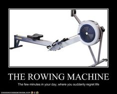 rowing ... truth