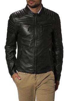 New Leather Jacket Men Motorcycle Biker Coat Soft Lambskin XS S M L XL XXL # 62 #Handmade #BasicJacket