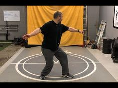 Stop Falling Into the Circle - Top 10 Discus and Rotation Mistakes and Corrections - Video Speed Workout, Track Workout, Discus Throw, Pe Teachers, Shot Put, Training Videos, Training Center, Bad Timing, Track And Field