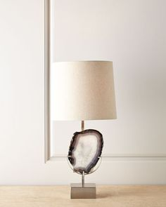Agate Table Lamp at Horchow.