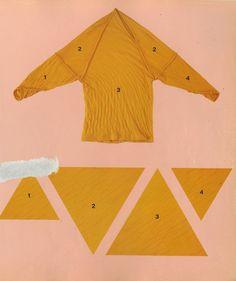 Крой из треугольников / Простые выкройки / ВТОРАЯ УЛИЦА