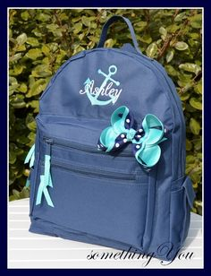 Personalized Anchor and Name Monogrammed by SomethingYouGifts, $34.90
