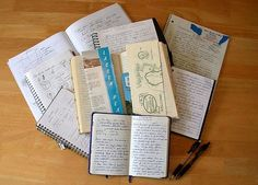 writer's notebooks | As a writer, you probably find yourself jotting random things down ...