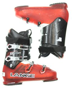 Used Lange SX 80 RTL Red u0026 Black Ski Boots Menu0027s Size 9.5 - Mondo 27.5  sc 1 st  Pinterest & Full Tilt First Chair 6 Ski Boots (27.5) -- Awesome products ...