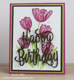 Stampin Up - Tranquil Tulips