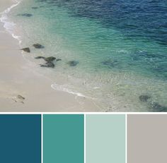 Beach color scheme dream-home