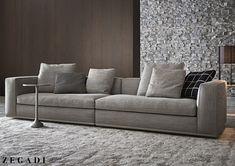 living room sofa u love Living Room Sofa Design, Living Room Chairs, Living Room Designs, Dining Room, Couch Furniture, Furniture Design, Minimalist Sofa, Hotel Restaurant, Comfortable Living Rooms