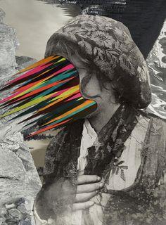 """Portrait of a Sicilian girl"" (2014) by Matthieu Bourel. Art Print / Mini (8"" x 10"")"