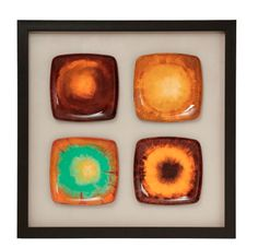 These bright and bold multicolored squares make a great statement piece. #wallart #interiordesign http://majesticmirror.com/products/2554-s-2/