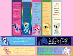 My Little Pony  Bookmarks  Twilight Fluttershy by IcyPanther, $2.75