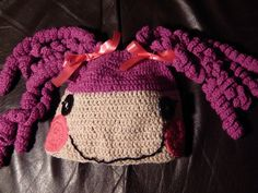 Crochet Pattern for La La Loopsy Inspired Hat for Child 4 Years Old to Teenager