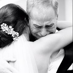 """""""A Bride today....Daddy's little girl yesterday."""