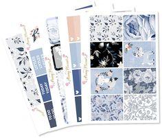 Foxy Full Kit   Erin Condren Planner Stickers