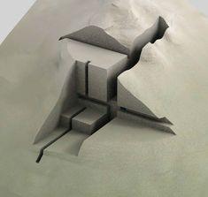 landscape clay model - Google Search