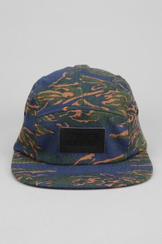 WeSC Camouflage Print 5-Panel Hat  #urbanoutfitters