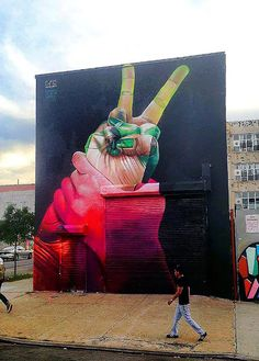 Case New Mural In New York City, USA StreetArtNews