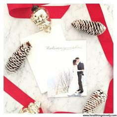 Send your loved ones a extra special Holiday greeting card from Minted.