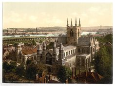 [The cathedral, Rochester, England]  (LOC)