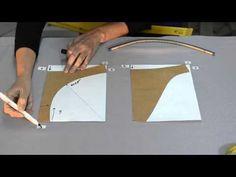 COMO HACER ROPA INTERIOR CLASICO + cortamos los patrones - YouTube