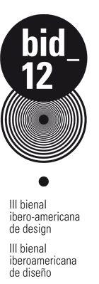 Tercera Bienal Iberoamericana de Diseño. BID12
