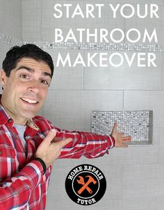 Tiled bathrooms can be beautiful or ugly. So in this quick tutorial we decided to share 10 tips to help you make tiling easier and smarter.