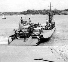 Likoni Ferry - Kenya, 1953