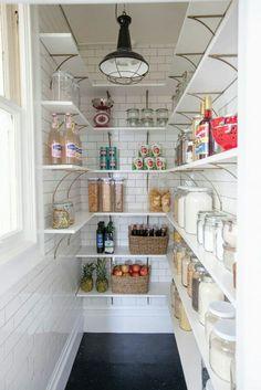Shelves w/ tile