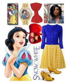 """Snow White"" by ingridmv on Polyvore featuring Disney, AX Paris, N.Peal, Chelsea Crew, Sagaform, disney and snowwhite"