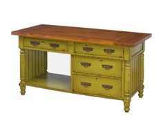 Farmhouse Kitchen Island....this may be just the one!