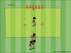 Free soccer fun games for U6 - U12 for soccer practice.