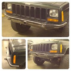 Fortress DIY Mojave Front Bumper provides the highest aproach angle and ground clearance, while showing off your Jeep in style. Jeep Zj, Jeep Xj Mods, Big Trucks, Pickup Trucks, Jeep Cherokee Accessories, Diy Bumper, Jeep Sport, Rock Sliders, Toyota Hilux