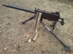 M1919 Browning .30 cal Medium Machine Gun – Has a Rate of Fire of 400 to 1500 Round per Minute with an Effective Range of 1500 Yards - Used as a Light Infantry, Coaxial Mounted, Aircraft or Anti-Aircraft Weapon - 5,000,000 were Made - In Service From (1919-Present)