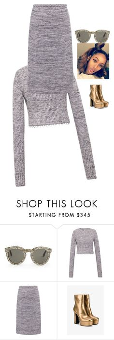"""""""that party tho 😍😍😍😍"""" by inspiredbyart345 ❤ liked on Polyvore featuring Yves Saint Laurent and BEVZA"""