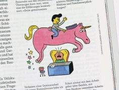 #AndyRementer | NZZ Campus. #illustration