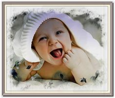 A digital art painting of your lovely baby Digital Art, Canvas, Gallery, Artwork, Baby, Poster, Pictures, Painting, Tela