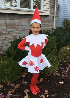 Super Easy Elf On The Shelf Costume Red Shirt Amp Leggings