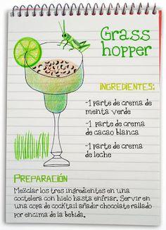 Receta cóctel Grasshoper - Descubre Catabox - Packs Gin Tonic y Vino - El regalo perfecto para los amantes de las cosas buenas y bonitas