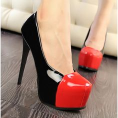 Patent leather 2 colors High Heels Women's Shoes