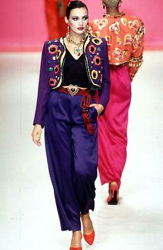 Yves Saint Laurent - Ready-to-Wear - Runway Collection - WomenSpring / Summer 1996