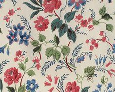 Vintage Wallpaper Sample Book Sheet Page por RosaMeyerCollection