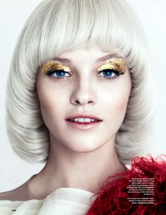 visual optimism; fashion editorials, shows, campaigns & more!: ginta lapina by norman jean roy for allure russia december 2013