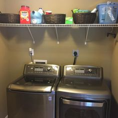 De-clutter Your Laundry Room!  I am absolutely loving Project Simplify, and I hope you are too. Not only is it helping me be purposeful in cleaning, organizing, and decluttering my home, it kicking my behind in gear to finish a project each day.