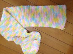 Fuzzy scarf!