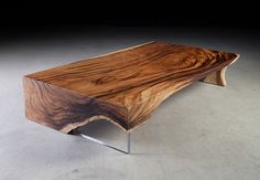 Phillips Collection - Chunk Coffee Table w/Waterfall Leg
