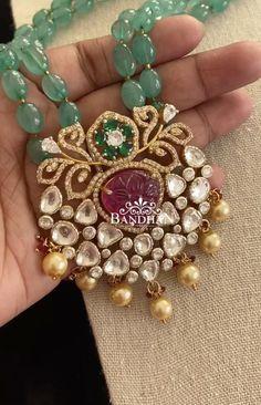 Fancy Jewellery, Gold Jewellery Design, Bead Jewellery, Beaded Jewelry, Beads Jewellery Designs, Antique Jewelry, Gold Jewelry, Pearl Necklace Designs, Jewelry Design Earrings